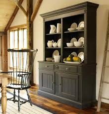 painted hutch love the look dining rooms pinterest white