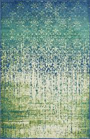 Modern Green Rugs by Blue And Green Area Rugs