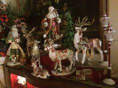 fitz floyd town country reindeer centerpiec figurine