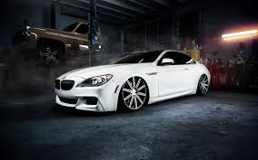 bmw m6 white car garage 7001271