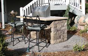 Outdoor Patio Grill Island Outdoor Kitchens Projects Hedberg Landscape And Masonry