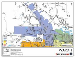 Dr Map Ward Maps City Of Hattiesburg