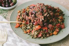 slow braised lamb with tomatoes and lentils recipes backyard farms