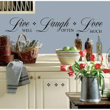 Live Laugh Love Signs Wall Stickers Live Laugh Love Live Love Laugh Wooden Words 3