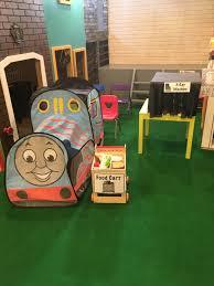 station dramatic play play time preschool