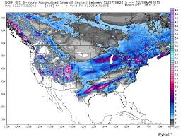 Snowfall Totals Map Snow For All 50 States Forecast In Next 7 Days Roy Spencer Phd