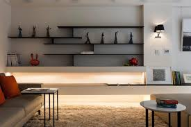 wall shelves design in living cool wall design ideas for living