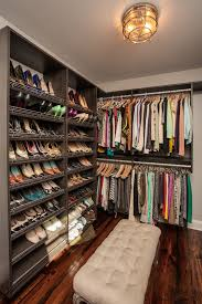 closet shelving ideas closet craftsman with shoe racks tufted