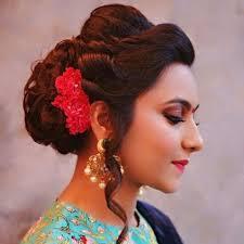 akshara wedding hairstyle short wedding hairstyle with ringlets indian bridal hairstyles