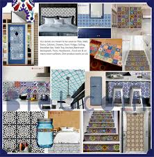 Kitchen Backsplash Decals Scandinavian Tile Wall Floor Cabinet Backsplash Decal For