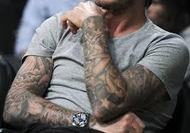 40 oustanding david beckham tattoos creativefan