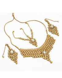 new gold set buy gold plated bridal set golden online in pakistan buyon pk