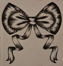 set of ribbon bow tattoo designs real photo pictures images and