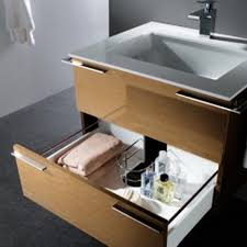 Vanity Units With Drawers For Bathroom by Bathroom Vanity Design With Large Sliding Drawer Home Gallery