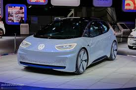 volkswagen electric car volkswagen i d concept revealed in paris showcases vw u0027s electric