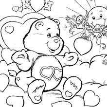 care bears sleeping coloring pages hellokids