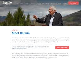 Bernie Sanders New House Pictures by Bernie Sanders For President 2016 Fonts In Use