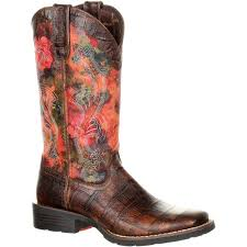 durango mustang women u0027s faux exotic western pull on boot