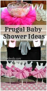 tutu baby shower theme baby girl shower ideas on a budget crafty morning