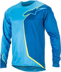 best jackets for bikers alpinestars sierra bicycle long sleeve shirt shirts bike blue