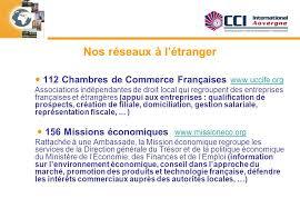 chambre de commerce française à l étranger cci international auvergne ppt télécharger