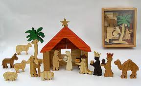 wooden nativity set wooden nativity sets for children made in america