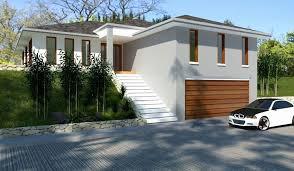 hillside home designs hillside house plans unique house plans hillside 4 bed home