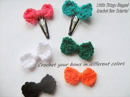 crochet hair bows peste 25 dintre cele mai bune idei despre crochet hair bows pe