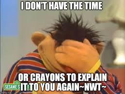 Ernie Meme - face palm ernie meme generator imgflip