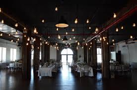 edison string lights the liberty warehouse wedding lighting