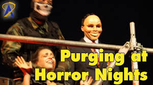 halloween horror nights scare actor pay purge victim roundup and killing at halloween horror nights
