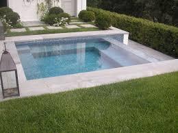 Swimming Pool Backyard Designs by Best 25 Plunge Pool Ideas On Pinterest Small Pools Spool Pool