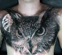 Owl Shoulder - 122 amazing owl tattoos their meanings
