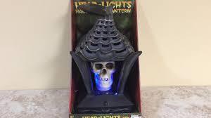 Halloween Skull Lights by Gemmy Halloween Animated Head Lights Skull Youtube