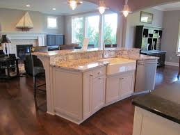 L Shaped Kitchen Island Ideas Houzz L Shaped Kitchen Cool L Shaped Family Modern Kitchen Homes
