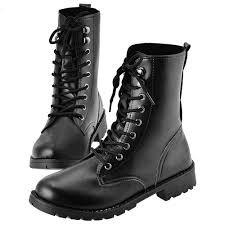 lace up motorcycle boots online get cheap military boots pvc aliexpress com alibaba group
