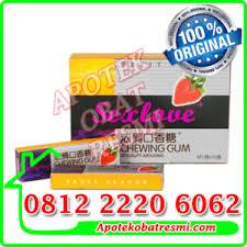 obat perangsang wanita permen karet chewing gum