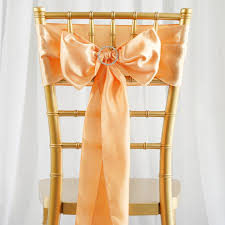 chagne chair sashes 50 pcs new satin chair sash bows ties wedding decorations free