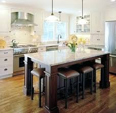 Kitchen Island With Table Seating Kitchen Island Seats Extended Kitchen Island Kitchen Islands With