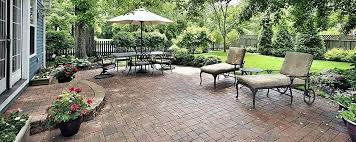 Paver Ideas For Backyard Paver Landscaping Ideas Backyard With Concrete Cheap Backyard