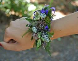 small wildflowers look best on wrist corsages get inspired
