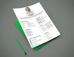 Interactive Resume One Page Interactive Resume Design Freelancer