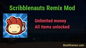 scribblenauts remix apk scribblenauts remix modded apk archives mod4games