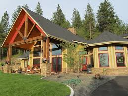Octagon Shaped House Plans Mountain House Plan With Octagonal Dining Room 35498gh