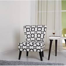 Fabric Accent Chair Container Furniture Direct Cora Contemporary Patterned Fabric
