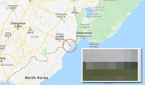 russia map border countries maps reveals secret korea from russia road along
