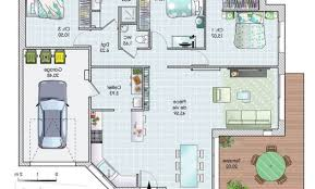 maison plain pied 2 chambres plan maison 80m2 2 chambres suprieur plan maison plain pied