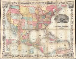 World Map Of The United States by Map Of The United States Of America The British Provinces Mexico