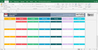 Excel Template Excel Calendar Templates Free Printable Excel Template