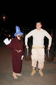 diy halloween costume mickey u0026 the broom from fantasia